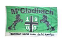 Fahne Fanflagge Mönchengladbach - Tradition kann man nicht kaufen Flagge Fußball