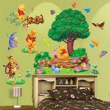 Extraíble Winnie The Pooh Adhesivo Pared Adhesivos De Vinilo Guardería Bebés