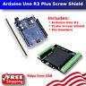 NEW Arduino compatible UNO R3 ATMEGA328P PLUS Prototype Screw Shield