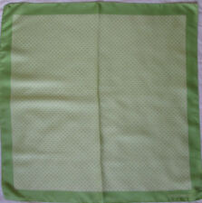 -Superbe Foulard  COCCINELLE   soie  TBEG vintage scarf 67 x 68 cm