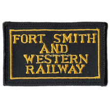 Patch- Fort Smith and Western Railway (FSW)  #2014- NEW- Free Shipping