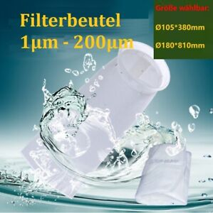 Algenkiller Filterbeutel Filterstrumpf Filtersack Algenfilter Deckelfilter
