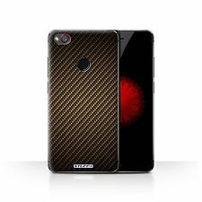 Stuff4 Phone Case/back Cover for ZTE Nubia Z11 Mini /carbon Fibre Effect/pattern Gold