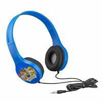 PAW Patrol Headphones Kid Friendly Blue with Ears Childrens Character Marshall