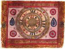 Tantrik Tantric Yantra Tantra Art Handmade Asian Indian COSMOLOGY Painting