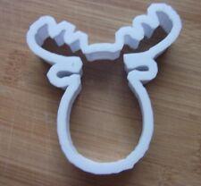Cabeza De Reno Masita Cortador Galleta Pastelería Fondant Forma Plantilla Navidad Elk