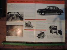 BMW Ángel Barroco 501 V6 V8 4.1957 Prospecto Carpeta A2 Original Advertising Add