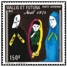 Timbre Religion Noel Wallis et Futuna PA57 ** lot 25366 - cote : 17 €