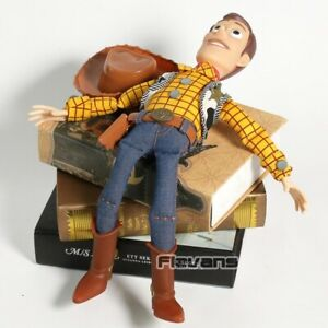 Talking Woody Doll Toy Story Interactive Action Figure 35cm New Buzz Pull String