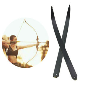 """30-60lbs Recurve Bow Limbs Bamboo Core 60"""" Archery Take Down Hunting Shooting"""