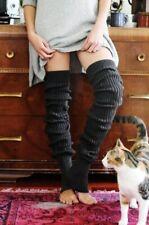NWOT Free People Pirouette Leg Warmers One Size Black Toesox