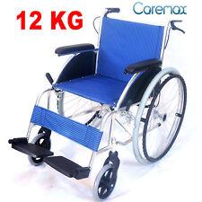 CA981 CAREMAX 12KG Aluminum Alloy Light Wheelchair  Active Folding Wheel Chair