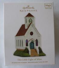 Hallmark 2011 This Little Light of Mine Church Choir Magic Christmas Ornament