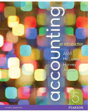 Accounting An Introduction (5th Ed.) by Atrill, Harvey, Jenner