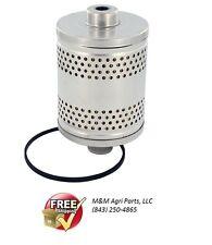 IH FARMALL CUB, CUB LOBOY TRACTOR C60 ENGINE OIL FILTER 376373R91 CATRIDGE