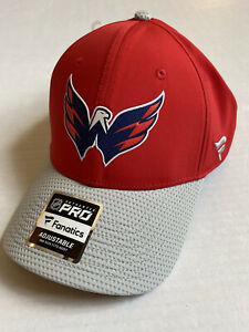 Washington Capitals Fanatics NHL Branded Authentic Snapback Cap Hat One Size