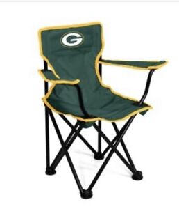 Green Bay Packers NFL Folding Toddler Chair with Carry Bag
