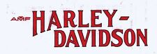 For HARLEY DAVIDSON - 1977 FXS  FX LOW RIDER TANK DECALS RED W/BLACK 61205-77