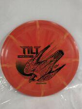 Discmania Tilt Simon Lizotte 175g Orange Burst w/Green stamp