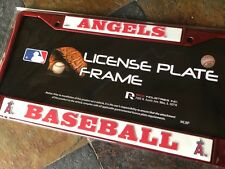 1 Los Angeles Angels Red Metal License Frame wNice Raised 3D Graphics Anaheim