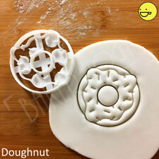Doughnut cookie cutter | donut ring donuts jimmies sprinkles cute party biscuit