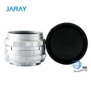 Jaray 35mm f1.6 Wide Angle Manual Lens for Canon Olympus Sony Fujifilm Cameras