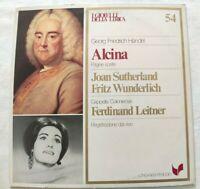 ALCINA GEORG FREIDRICH HANDEL LP SUTHERLAND WUNDERLICH VINYL ITALY 1981 NM/NM