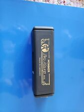 "Hohner Pro Harmonica / Harp Key Of "" A "" Ms  - 10 Hole - Germany new in box"