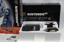 Nintendo 64 Console and Twin Controller Pack (1x Clear Atomic Purple) - Boxed