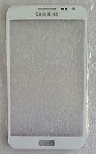 Front Glas Scheibe Display Weiß White für Samsung Galaxy Note N7000 I9220 NEU