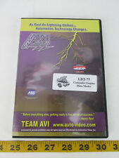 Team AVI Auto Video DVD Training Course Computer Engine Data Modes LBT-75 SKUD2L