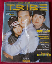 TRIBE #23 anno 2000 ITALY BLINK 182 PS + kid rock Offspring Robbie Williams