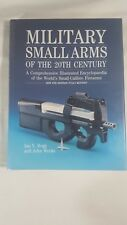Hardback of Military Small Arms of the 20th Century by Ian V Hogg and John Weeks