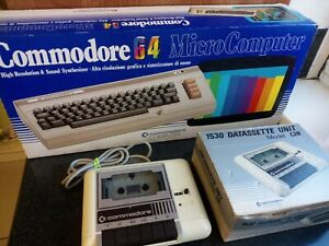 Boxed Commodore 64 With Datasette - Untested - No PSU Or Manuals