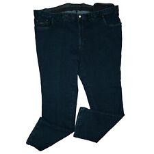 Luigi Morini Mike Men's Chino Jeans Stretch Pants Blue plus Size 33 W50 L32 New