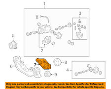 Pontiac GM OEM 09-10 Vibe Rear Suspension-Differential Mount Support 88969218