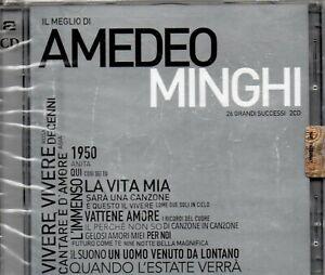 AMEDEO MINGHI  ( IL MEGLIO ) 2CD