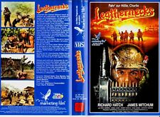 "VHS - FSK 18 - "" LEATHERNECKS "" (1989) - Richard Hatch - James Mitchum"