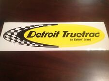 4x4 4WD DETROIT LOCKER RACING STICKER- BIG 285MM DRAG DRIFT V8 SUPERCARS HOLDEN