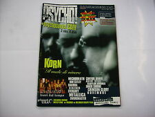 PSYCHO - #33 EXCELLENTI CONDITION - KORN - IN EXTREMO - METALLICA - NO CD