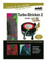 Turbo Knitting 2 Pattern Book for addi Express Professional Knitting Machine