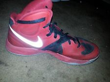 nike hyperfuse 2012 hightop red and black size us 13 Basketball Shoes