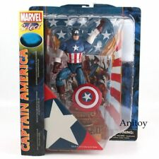 Marvel Captain America Anime Figure PVC Action Figure Collectible Gift Toy 23cm
