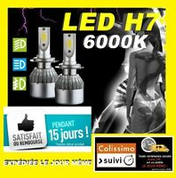AMPOULES LED XENON X2 H7 72W 6000K FEUX TUNING LUMIERE VOLKSWAGEN GOLF 4,5,6,7