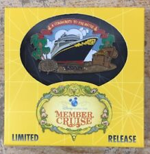 Disney DVC 2017 Members Cruise DCL Ship Pin New in Box  Limited Release
