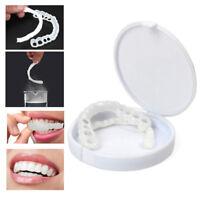 Cosmetic Dental Snap On Instant Perfect Smile Comfort Flex Fake Teeth Veneers