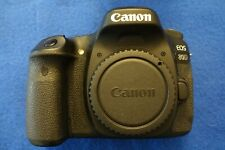 Canon EOS 80D 24.2 MP Digital SLR Camera, Low Shutter Count, Mint - (Body Only)