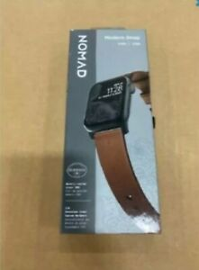 Nomad Modern Strap for Apple Watch Series Rustic Brown 44mm X 42mm