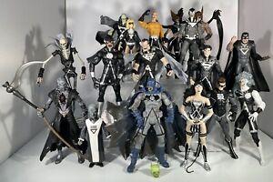 DC Direct Blackest Night Complete Set of Action Figures. 17 DCeased zombies