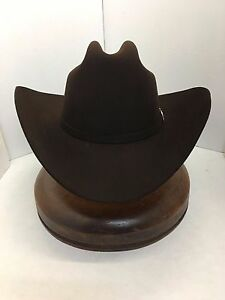 Stetson® 30X El Patron Mocha Felt Hat With Free Hat Brush